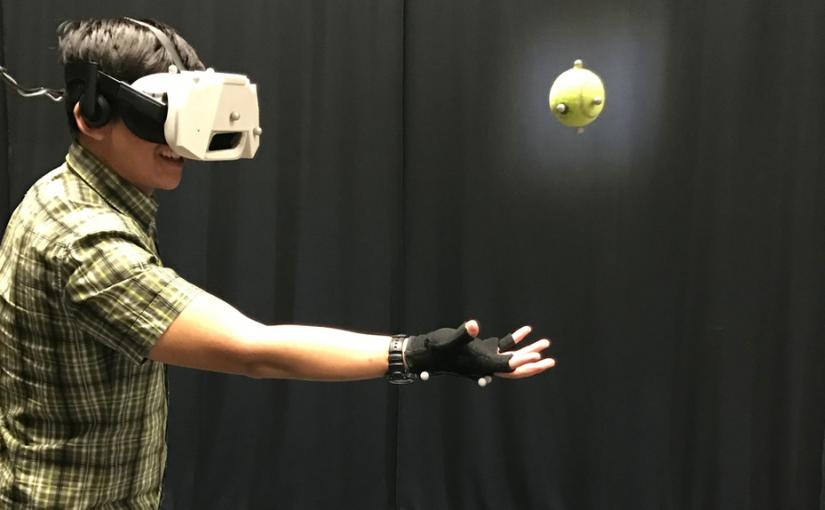 Realidad Virtual con Objetos Reales