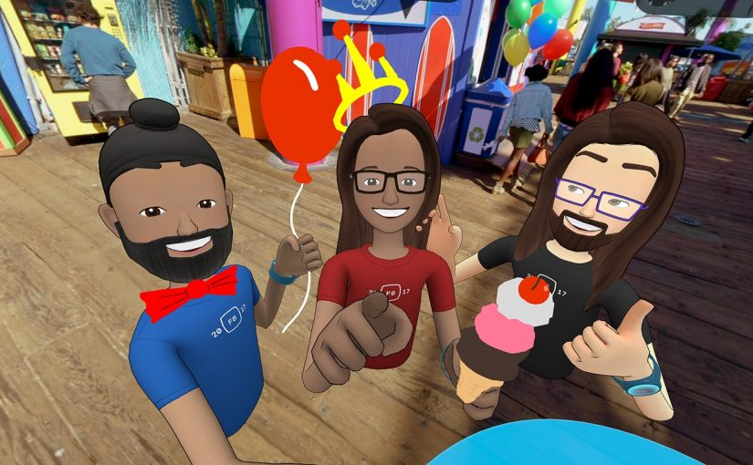 Facebook lanza la Beta para Oculus Rift de la Aplicación Social VR Facebook Spaces