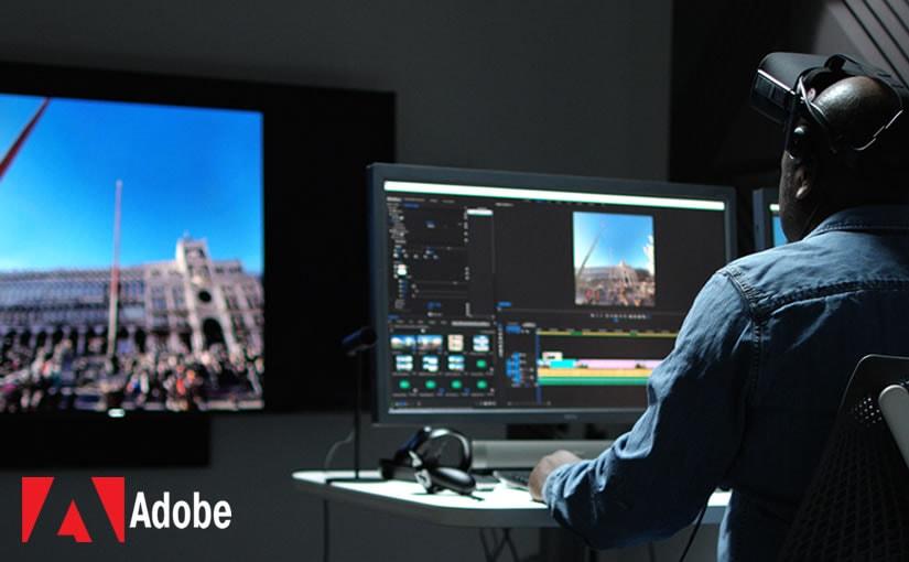 Adobe Lanza una Edición Inmersiva 360° VR
